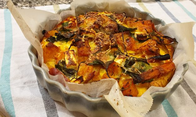 Prosciutto 'Pastry' and Vegetable Quiche