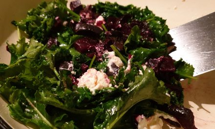 Warm Beetroot and Feta Salad